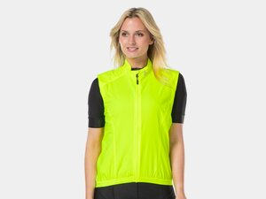 Bontrager Vest Circuit Wind Women X-Small Radioactive Yellow